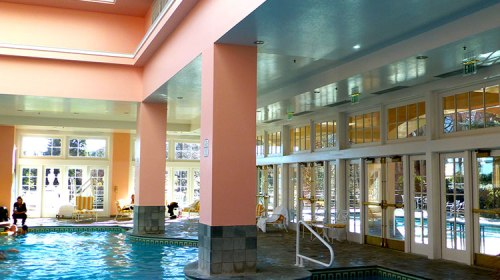 indoor pool at Broadmoor Colorado resort