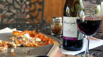 north carolina's wine country pizza and wine