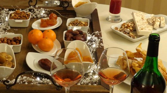 Table of desserts in Provence France
