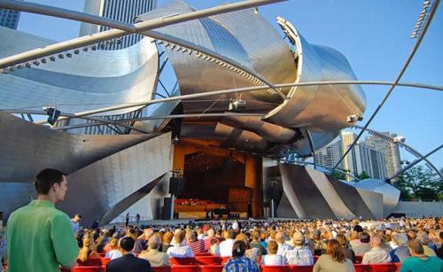 Frank Gehry Concert Pavilion