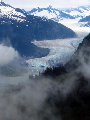 Alaska-Mendenhall Glacier