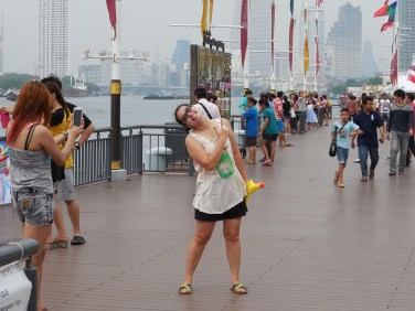 """Asiatique, the new """"lifestyle"""" development on the Chao Praya River in Bangkok, is where Thai locals come to play."""