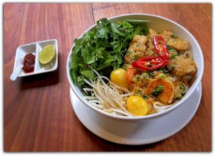 My Quang Pork Shrimp