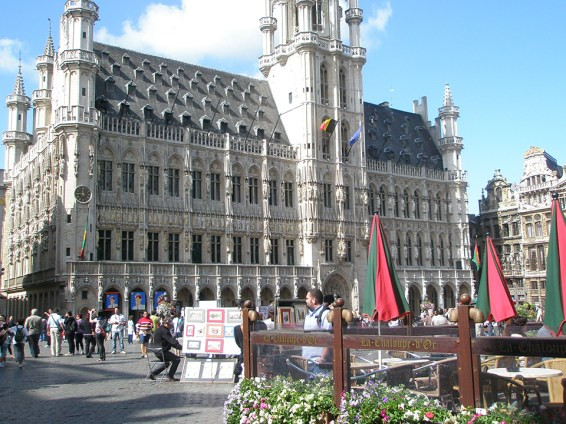 Grand-Palace is one of the most beautiful squares in Europe. Photo credit: Deborah Stone