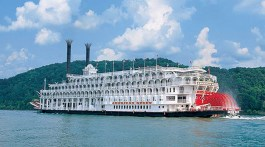 American Queen Steamboat. For all you American history buffs/cruise enthusiasts out there, clear your calendars, because the largest steamboat ever built is back on the waters.