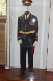 Uniform of Marshal Tito, late Communist dictator of Yugoslavia. Photo credit: Bob and Sandy Nesoff