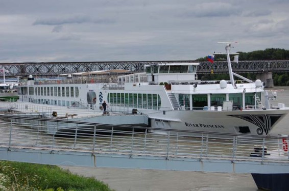 Uniworld's River Princess. Photo credit: Bob and Sandy Nesoff