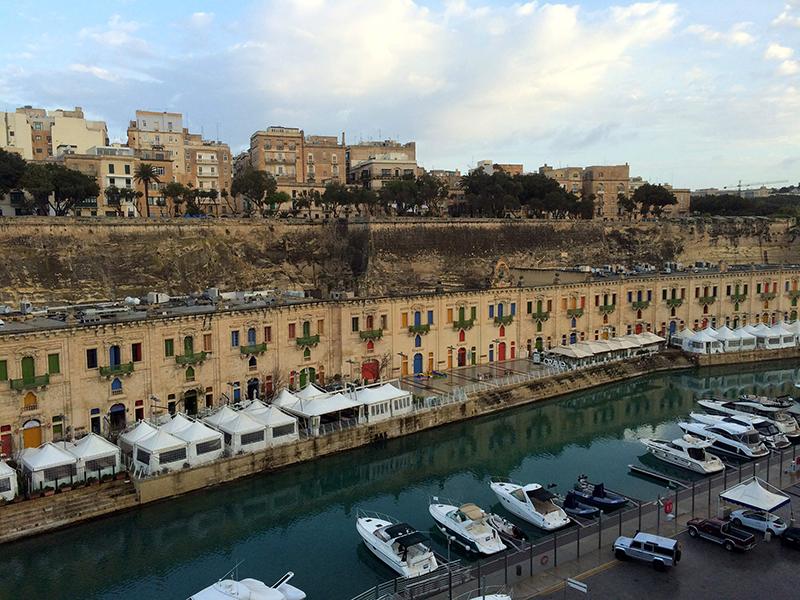 Malta,Valetta-arrival on MSC