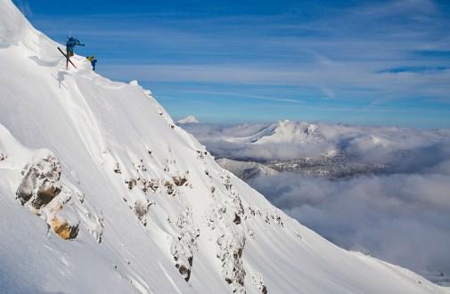 Mt Bachelor Skiers. Photo credit: Pete Alport, Visit Bend