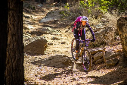 Mountain Biker. Photo Credit: Nate Wyeth, Visit Bend