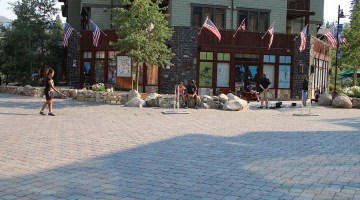 Mammoth Village Square. Photo Credit: Carrie Dow