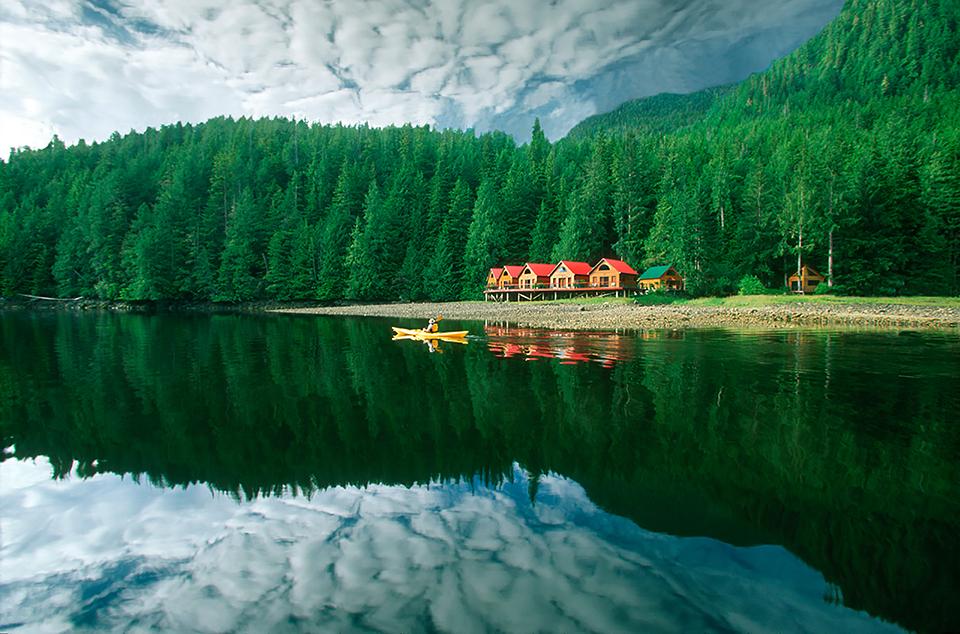 Heli-Fishing In Nimmo Bay, British Columbia