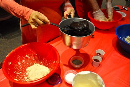 Fragrant, steeped chili pods provided juice to flavor the masa. Photo Credit: Leslie Long