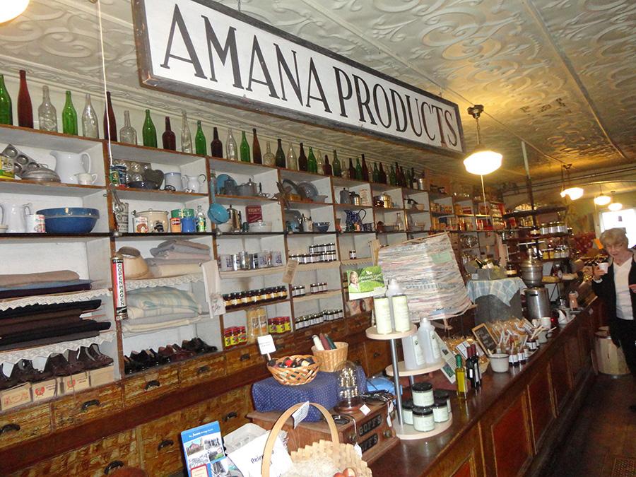 Amana General Store. Photo Credit: Cindy Ladage