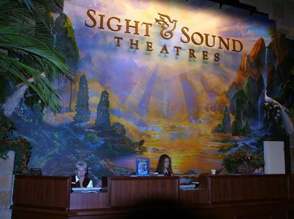 Sight & Sound Theatre. Photo Credit: Bobbie Green
