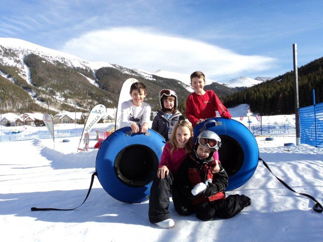 Kids tubing at Copper Mountain. Photo Credit: Julie Hatfield