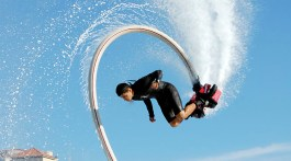 Alex on flyboard
