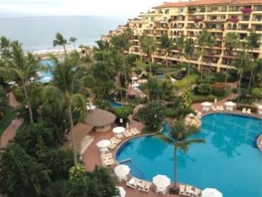 Casa Velas balconies & pools