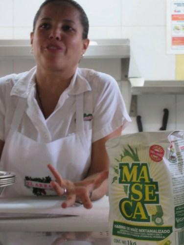 Owner Carmen Porras