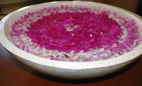 Grand Velas Spa - Flower Petals