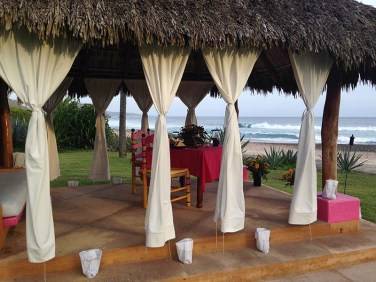 Las Alamandas private dinner