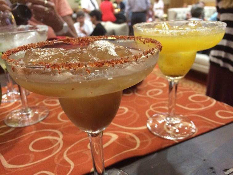 Tamarindo or maracuyá margaritas