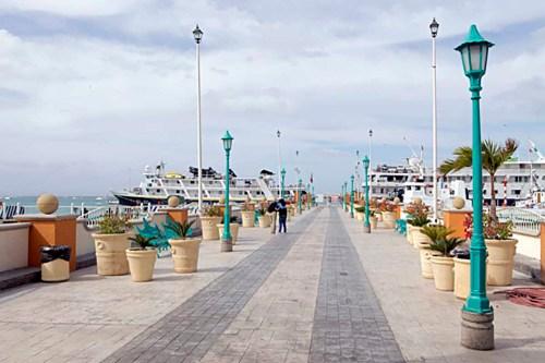 Docks of La Paz, Mexico