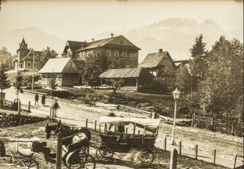 Krupowki-Street-Zakopane-in-1903