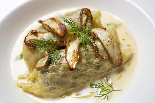 Modern twist of traditional Golabki (stuffed cabbage rolls)