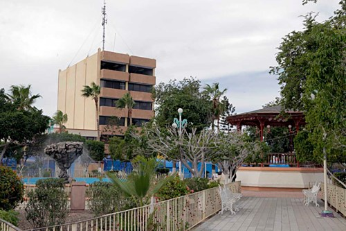 Pavilion in La Paz, Mexico