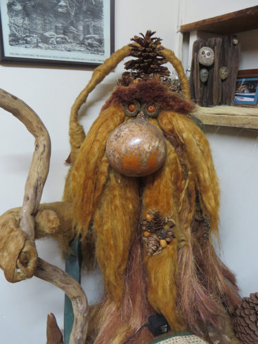 Troll from natural materials