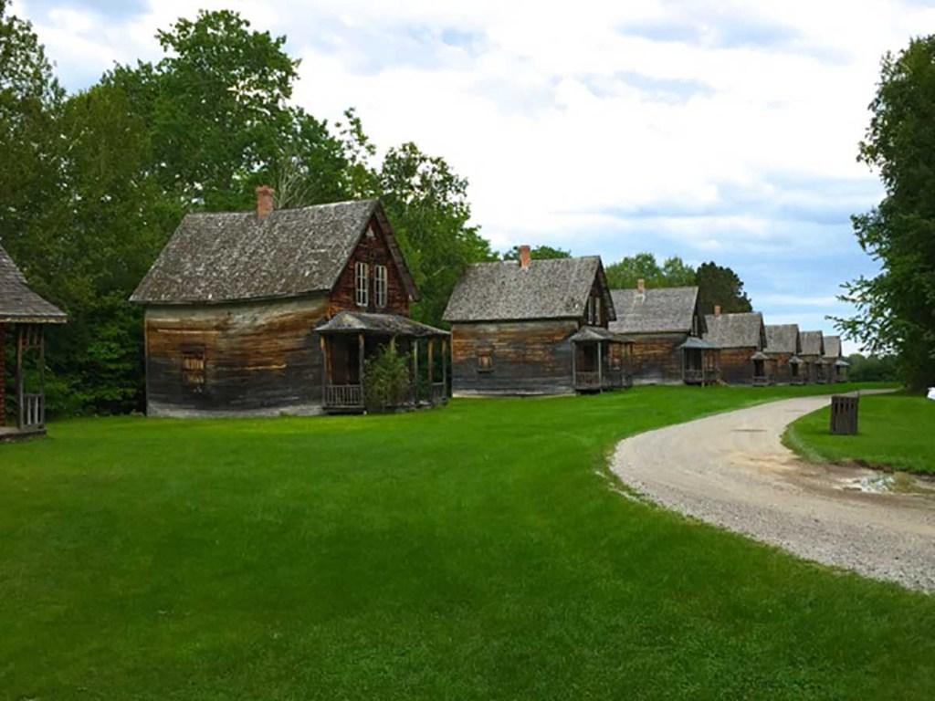 Village Historique De Val-Jalbert, Canada's largest ghost town