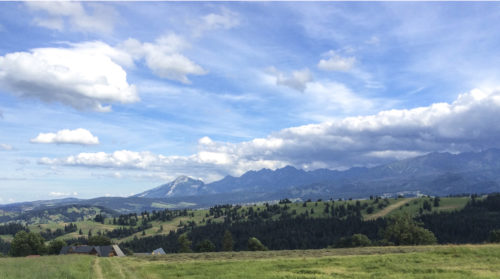 View of the Tatra Mountains