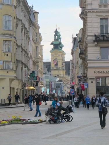 Center of Linz