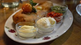 Foccacia with 4 dips · TWI News