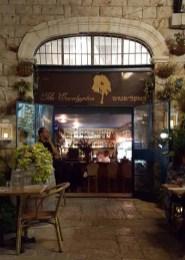 Front of Eucalyptus Restaurant