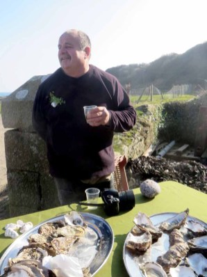 Patrice Bonnargent, oyster & mussels farmer, Killough