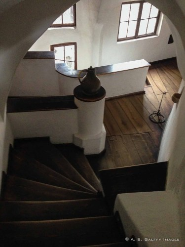 Spiral Staircase at Bran Castle