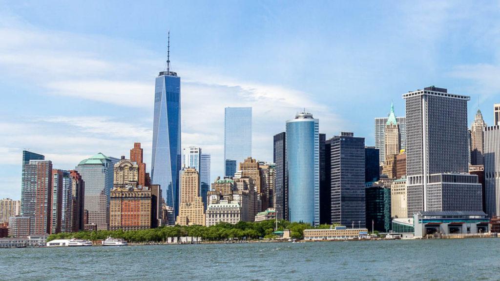 Manhatten, New York skyline