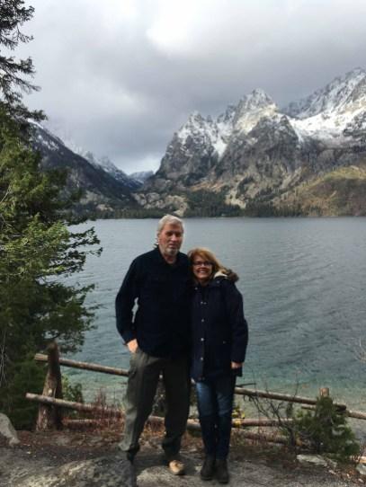 40th Wedding Anniversary photo at Jenny Lake