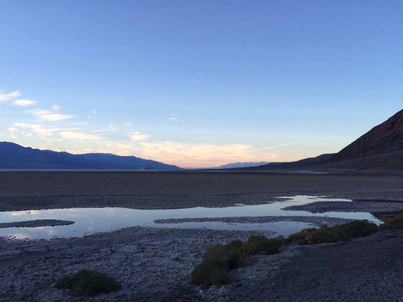 Badwater Basin after Rain
