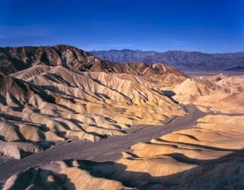 Zabriskie Point badlands, Death Valley National Park, California