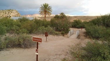 Trail to the Hot Springs