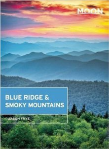 Moon Blue Ridge & Smoky Mountains by Jason Frye