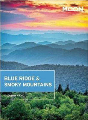 Moon Blue Ridge & Smoky Mountains by Jason Frye