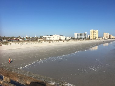 Casa Marina from Jacksonville Beach. Photo by Cindy Ladage