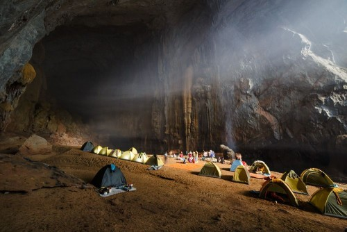 Campsite in Hang Son Doong
