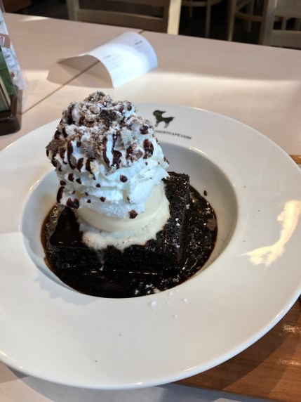After you - mud brownie