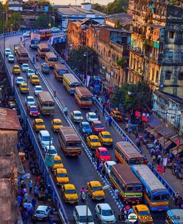 Buses in Kolkata