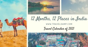 12 Places in India